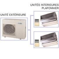 Climatiseur quadrisplit réversible inverter Daikin 4MXM68M